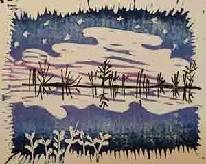 linocut-reflect