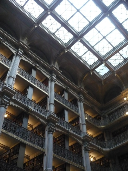 Peabody Library, Johns Hopkins University, Baltimore MD
