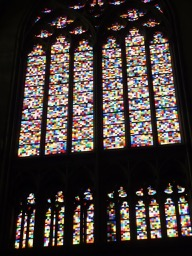 Modern stained glass, Koln Dom